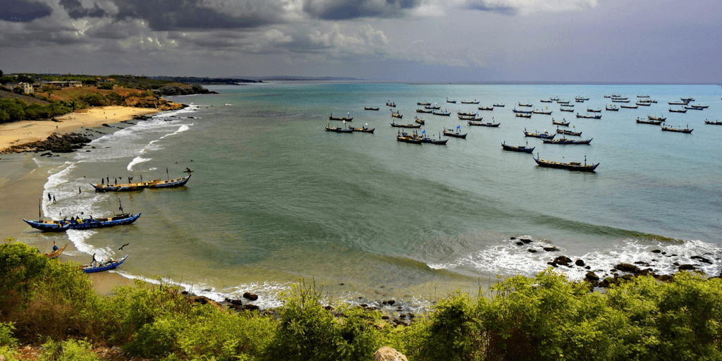 picture of ghana beach, weather, landscape