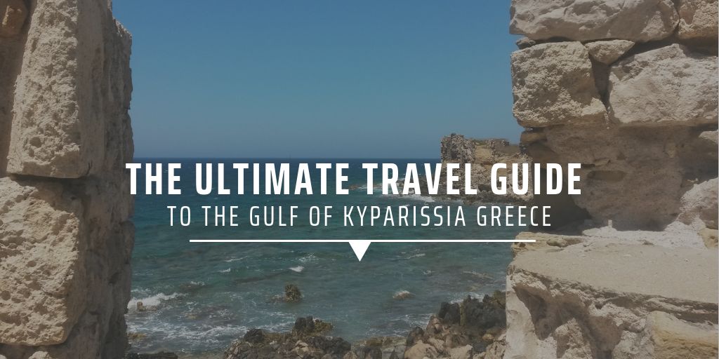 Gulf of Kyparissia Greece
