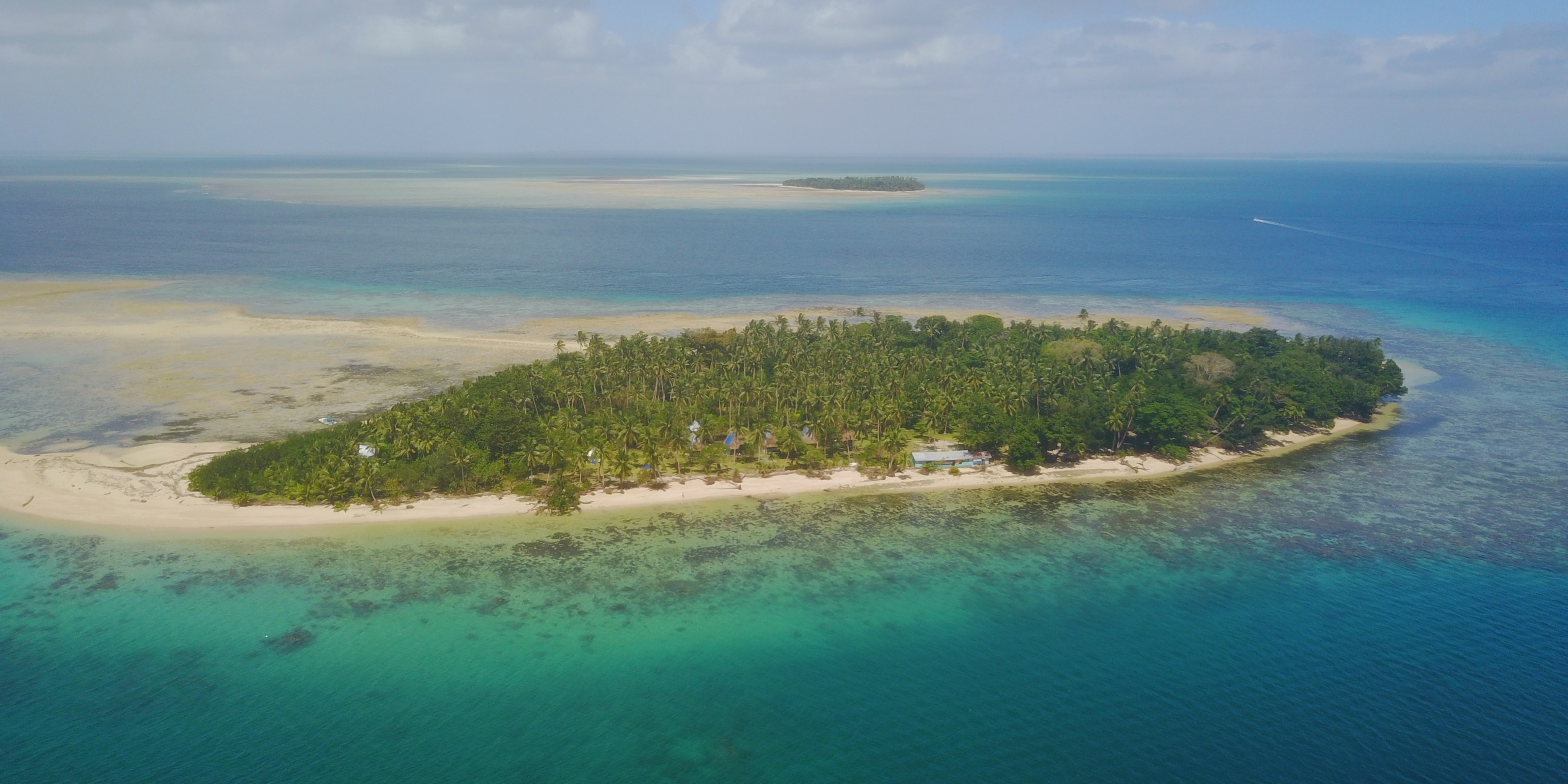 A diving career could take you to many idyllic locations, such as the island of Caqalai in Fiji.