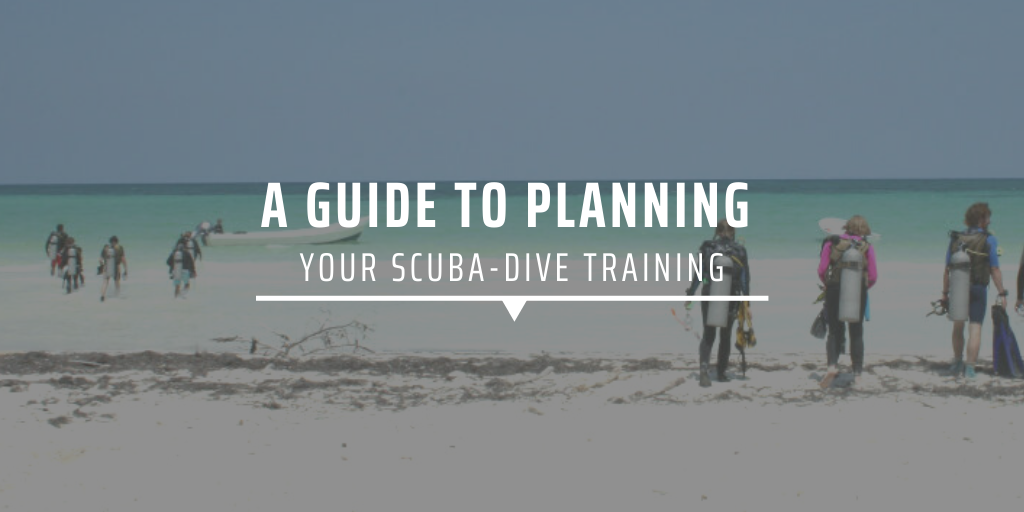 A guide to planning your scuba-dive training