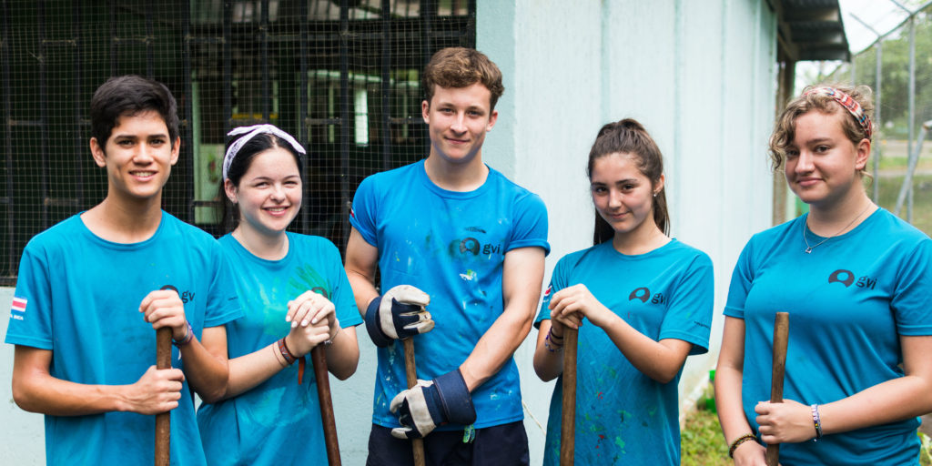GVI volunteers make an impact on their program.