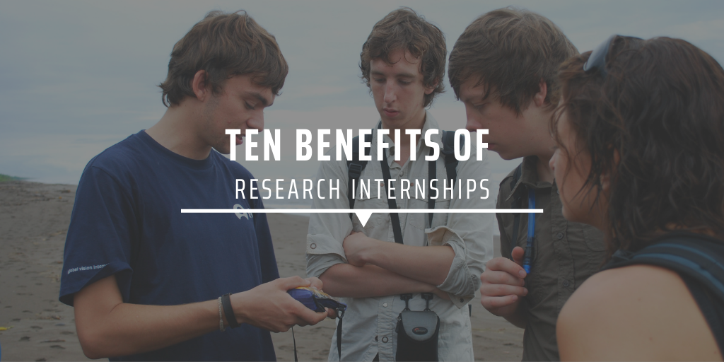 Ten benefits of research internships