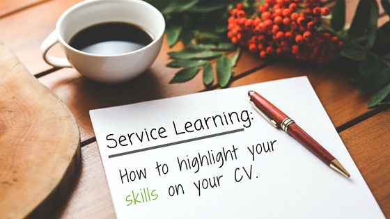 Service Learning: How To Highlight Your Skills On Your CV | GVI