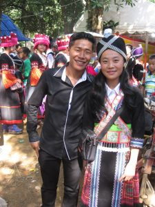 Lyly, A Laosi National Scholarship Student with GVI in Luang Prabang