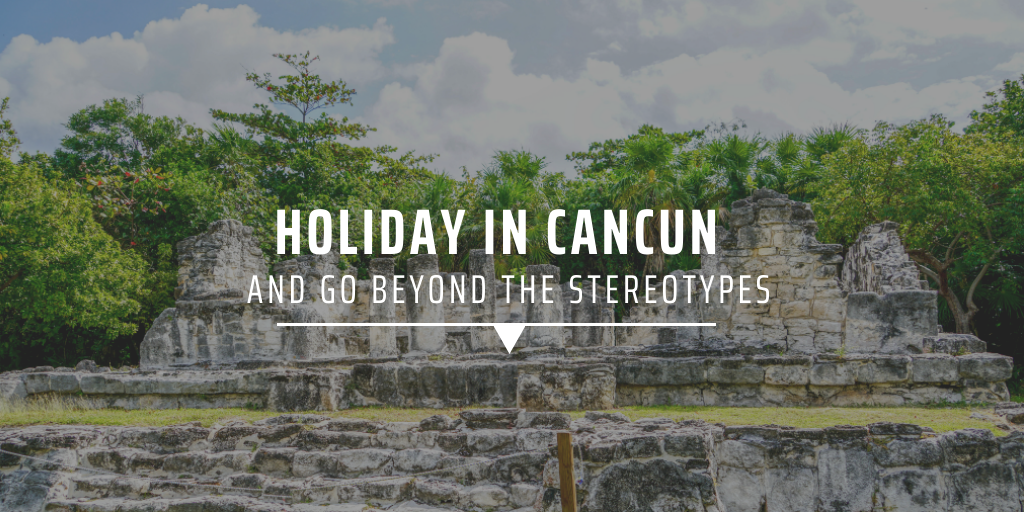 Ruins in Cancun.