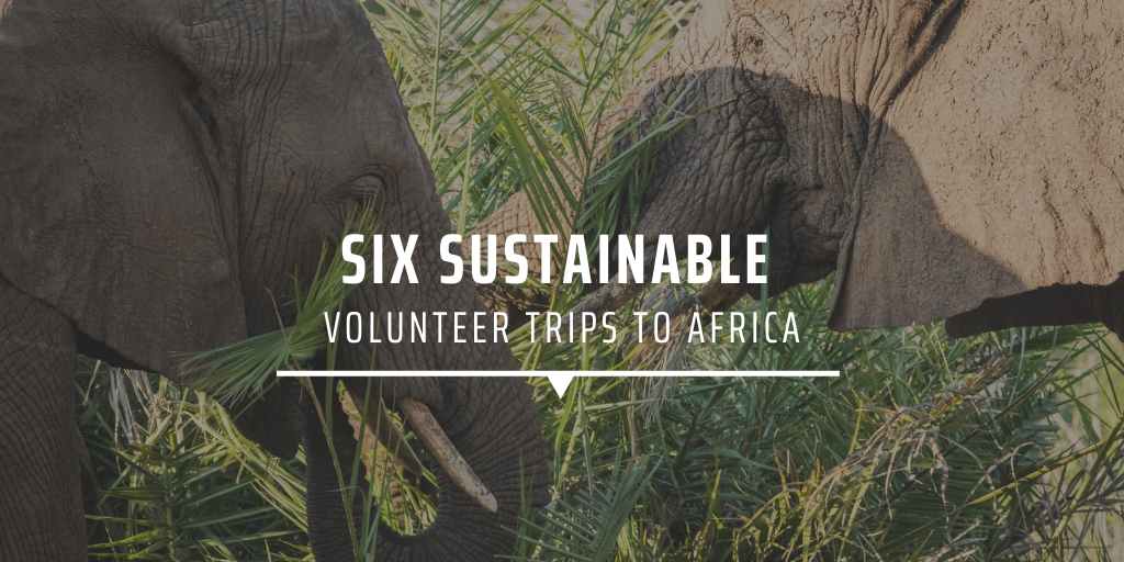 Six sustainable volunteer trips to Africa
