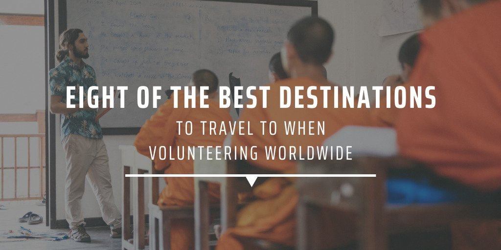 Eight of the best destinations to travel to when volunteering worldwide