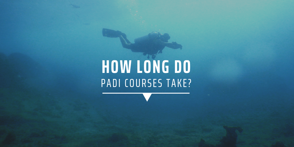 How long do PADI courses take?